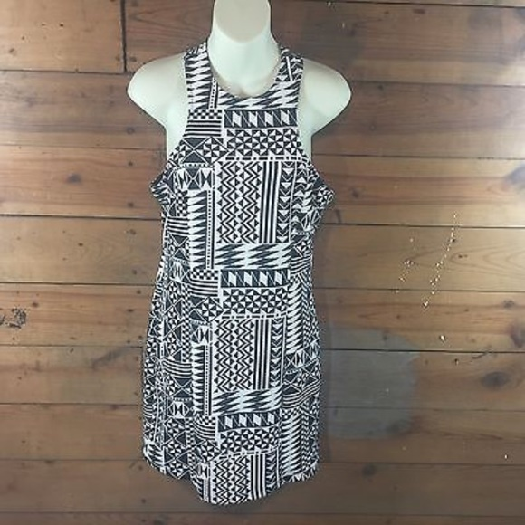 47884e28c Charlotte Russe Dresses | Dress Large Sleeveless Black White | Poshmark